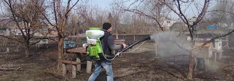 Обработка сада весной медным купоросом от болезней и вредителей