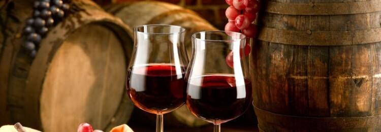 Грузинские вина полусладкие красные
