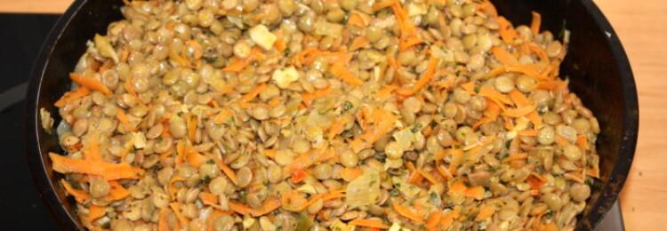 Как приготовить чечевицу вкусно на гарнир?