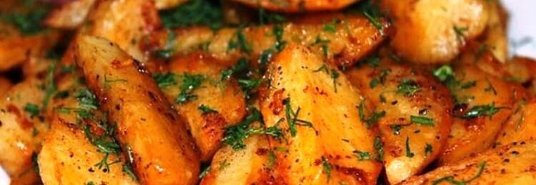Рецепт картофеля по-деревенски в духовке