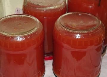 Рецепты томатного сока на зиму в домашних условиях