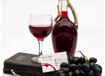 Вино мерло красное сухое