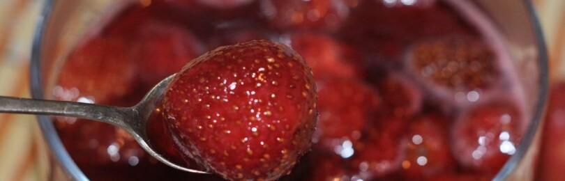 Как сварить клубничное варенье с целыми ягодами