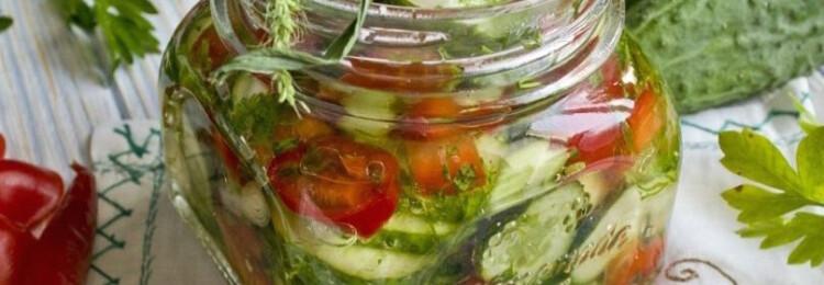 Рецепты салатов из огурцов на зиму